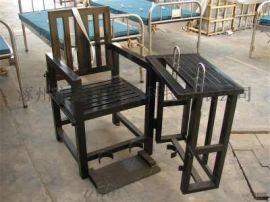 [鑫盾安防]不锈钢标准型审讯椅 仿不锈钢圆管型审讯桌椅XD5
