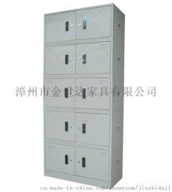 漳州文件柜订做,铁皮员工 衣柜厂家