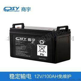商宇免维护铅酸蓄电池12V100AH
