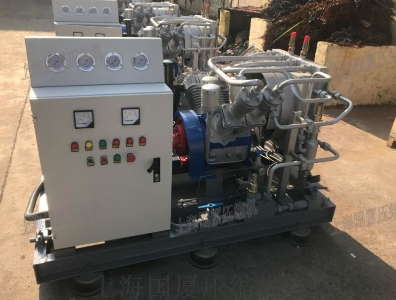 【管道试压】350公斤高压空压机_空气压缩机
