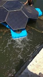 龟壳式太阳节能曝气机