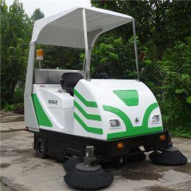 小林牌XLS-1750电动扫地车,工厂、物业地面粉尘清扫设备