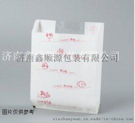 小吃包装袋 可防水防油纸袋食品尖底高低口外卖包装袋子牛皮纸袋定做