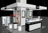 新款全新时尚木质烤漆化妆品展示柜厂家直销