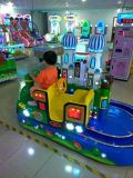 童投币双人轨道小火车游戏机,儿童城堡列车娱乐园必备热门设备