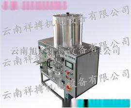 楚雄XBR-9001转盘式豆浆灌装封口机