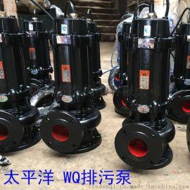 2寸污水潜水泵家用农用无阻塞污水泵立式排污泵**