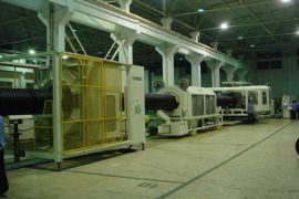 SBG-1000型PE双壁波纹管生产线