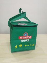 上海定制外卖保温袋手提折叠冰包野餐包无纺布来图大洋
