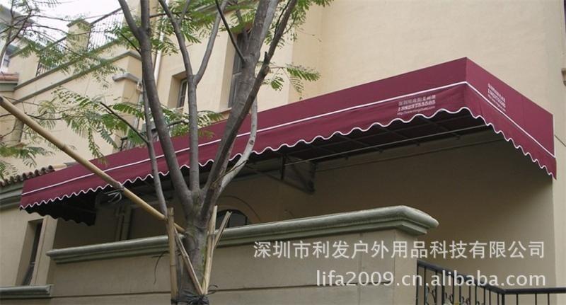 深圳遮陽篷伸縮蓬進口布料收縮蓬固定蓬安裝定製廣告篷