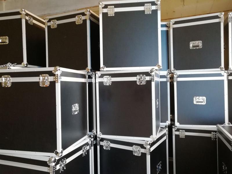 定制出口品质航空箱 大型耐摔防水**航空铝箱 一件起订