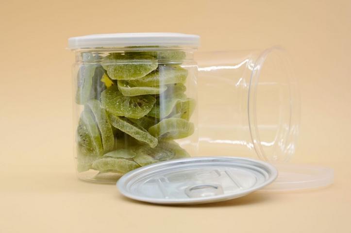 PET透明易拉罐 吹塑零食儲存罐 食品級PET罐