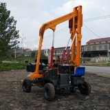 小型公路護欄打樁機全液壓護欄打樁機濟寧TZ-485