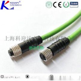 cof-lyM8/M12传感器电缆连接器|航空插头|防水接插件