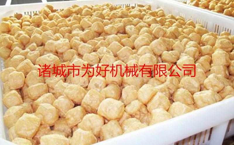 豆泡/鱼豆腐/鱼面筋油炸机专用设备
