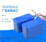 直销 LED灯具后备电源 18650锂电池组 22.2V 12000mAh充电锂电池