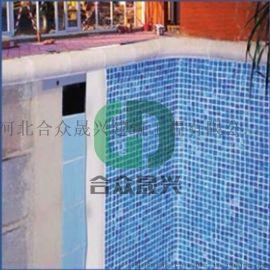 泳池胶膜快速老旧游泳池改造升级