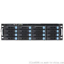 16盘位监控管理存储转发一体机,远程视频监控平台