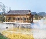 西安高壓噴霧造景-噴霧除臭消毒系統安裝