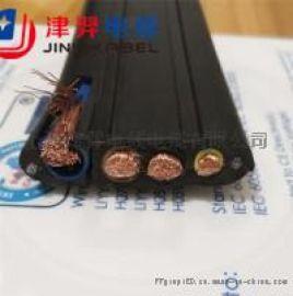 上海津羿 龙门吊抗拉扁电缆