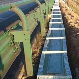 高速钢波纹板排水沟厂家 公路钢波纹管涵好