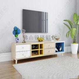 全铝合金电视柜型材厂家直销全铝家具可定制加工