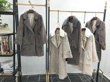 休閒女裝,服裝尾貨,廣州品牌折扣女裝,黃金貂絨大衣