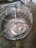 A洛阳吉利800型无动力风机屋顶风帽不锈钢风球