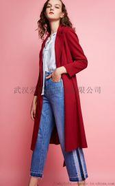 新手服装进货说话技巧GIRDEAR女士风衣韩版
