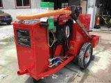 浩鴻拖掛式瀝青膠灌縫機用於瀝青水泥地表