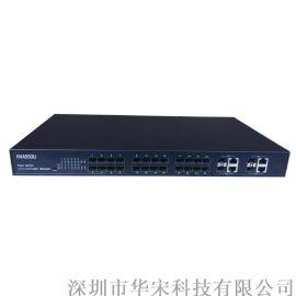 千兆4光4电百兆24光光纤交换机安防环网网管交换机