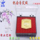 游戏币 古铜人物头像纪念币 合金烤漆礼品纪念币定做