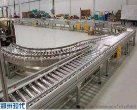 食品滚筒输送机,面粉动力辊筒输送线,负载量更大