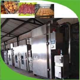 电加热蒜蓉肠香辣肠烟熏炉-长期供应肉制品成套设备