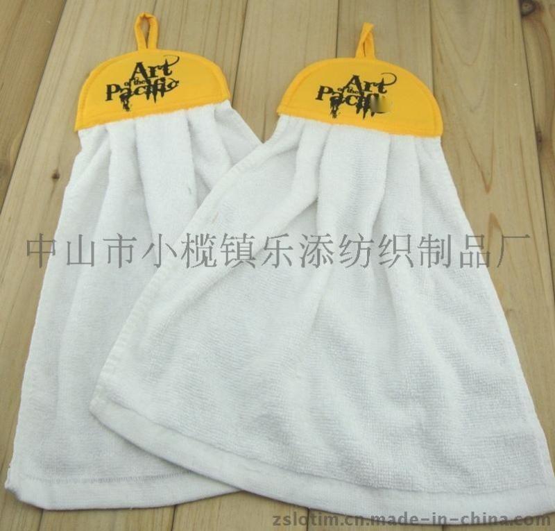 厂家定制厨房浴室广告擦手巾挂巾