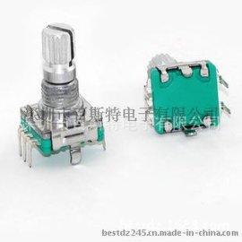 厂家供应EC11旋转编码器,旋转编码开关,车载  编码器  中