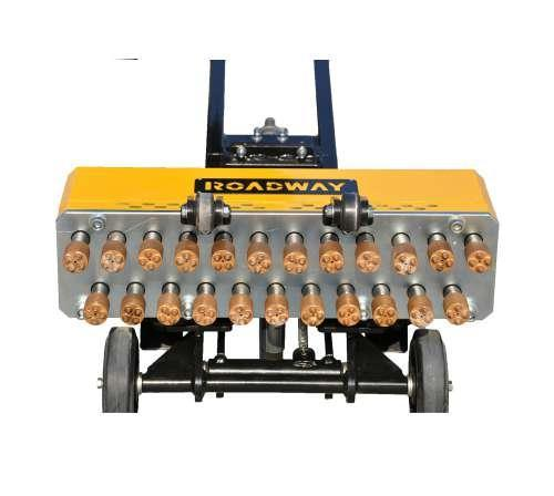 路得威凿毛机RWZJ31混凝土凿毛机手持式凿毛机 多头凿毛机