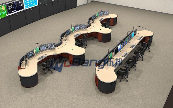 广东专业生产指挥中心调度台 控制台 监控台的厂家