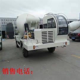 新款工程機械混凝土攪拌車 4.5方混凝土罐车