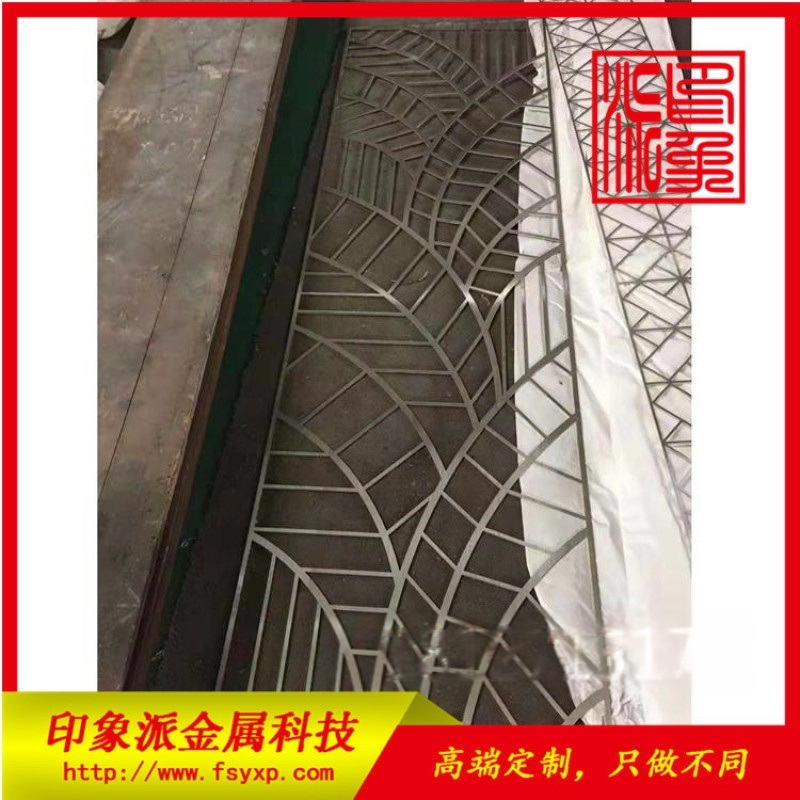 佛山厂家定制金属隔断 不锈钢玻璃隔断