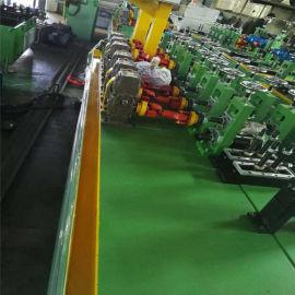 二手不锈钢制管机组成套设备 防盗门窗造管机 钢管焊接制管生产线