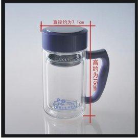 双层玻璃口杯-706