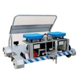 鋼軌檢修車輕型便捷適用於各種型號軌道鋰電池供電鐵軌車