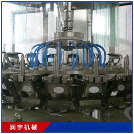 全自动桶装纯净水设备桶装水生产线洗桶设备灌装设备压盖设备润宇