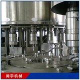 供應飲料灌裝機 全自動飲料灌裝生產線 牛奶灌裝機設備24頭 潤宇