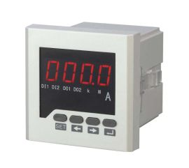 120*120单相数显电流测量仪表 可编程LED/LCD数显表