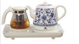 大气 青花瓷电热水壶 西安自动电热水壶