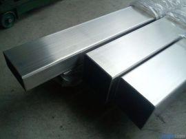201不锈钢方管80*80 厚壁201不锈钢焊管 拉丝不锈钢方管