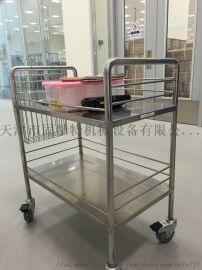 天津304/201不锈钢三层手推车生产厂家