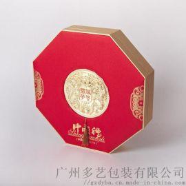 广州定制创意新款多边形礼盒 精品月饼包装盒厂家